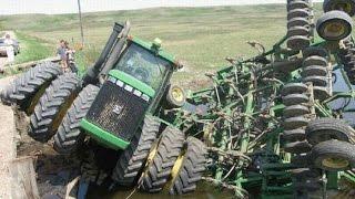 Обучение вождению на тракторе - YouTube