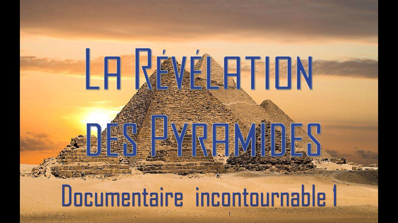 La revelation des pyramides : les secrets de la construction