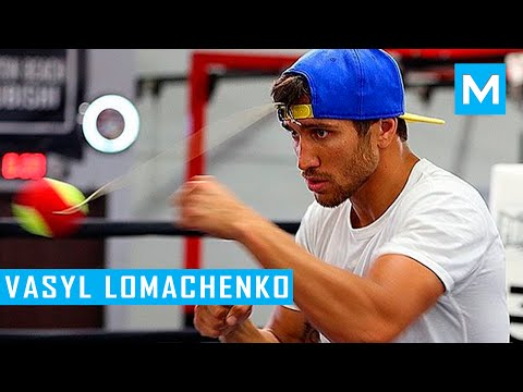 Vasyl Lomachenko Boxing Training Highlights | Muscle Madness