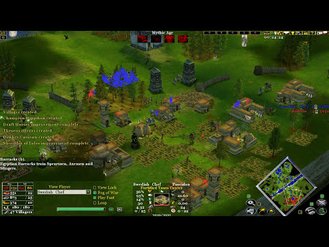 Age of mythology the TITANS New game view
