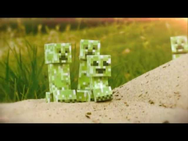 Minecraft [Real Life] EPIC Creeper Explosions (+SSSSssssSSssslow Motion)