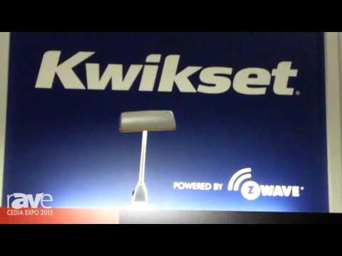 CEDIA 2015: Z-Wave Alliance Previews Kwikset SmartCode 916 Touchscreen Deadbolt Lock
