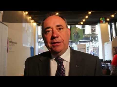 Interview with Alex Salmond, First Minister of Scotland with KaleidoScot