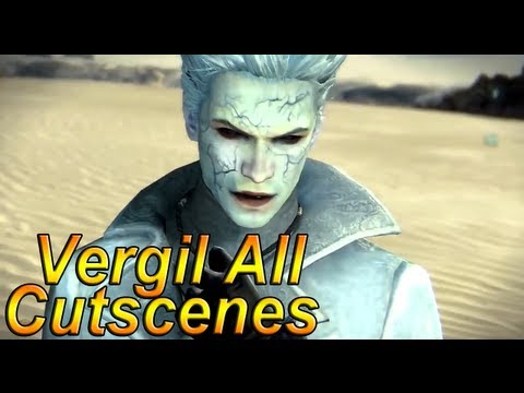 Dmc Devil May Cry 5: 'vergil's Downfall All Cutscenes' Complete Movie【hd】 video