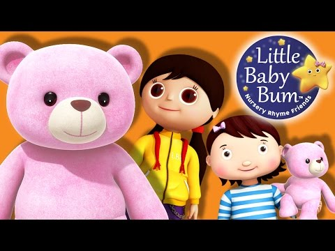 Round and Round The Garden | Nursery Rhymes | By LittleBabyBum!