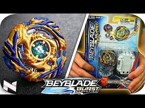 Fafnir F3 UNBOXING+TEST!!! || Beyblade Burst Evolution || Hasbro Beyblade