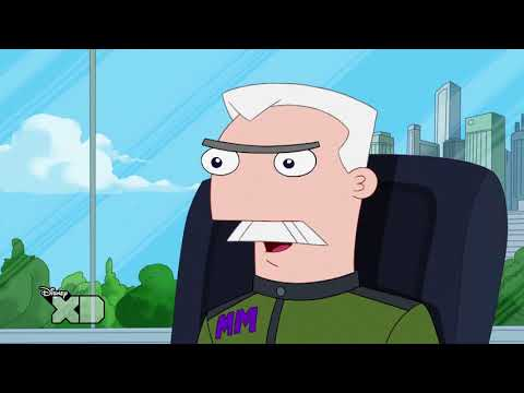 Phineas and Ferb - Perrysode - Agent Doof - Official XD [HD]