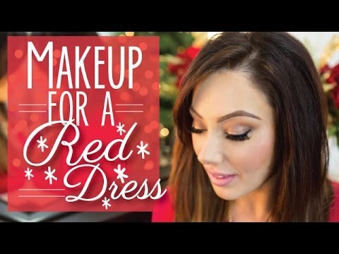 Makeup For a Red Dress