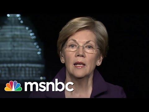 Elizabeth Warren Slams Dodd-Frank Change | msnbc
