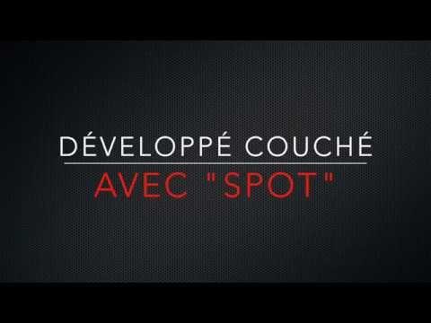 Développé Couché Avec Spot — 12 x 100 (non-claquée)