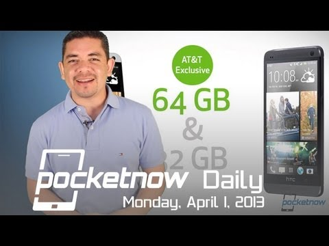 64GB HTC One an AT&T Exclusive. Facebook Home. BlackBerry Roadmap & More - Pocketnow Daily