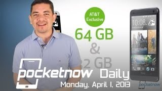 64GB HTC One an AT&T Exclusive, Facebook Home, BlackBerry Roadmap & More - Pocketnow Daily