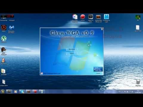 Chew - WGA 0. 9 – The Windows 7 Patch