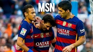 Messi - Suarez - Neymar Jr | Best of MSN | Skills & Goals 2016 | HD