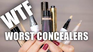 WTF ... MAKEUP BREAKUPS | Worst LUXURY Concealers