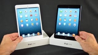 Apple iPad mini (White vs Black): Unboxing & Demo