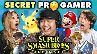 Professional Smash Bros Player DESTROYS Gamers (React)