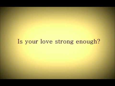 How To Destroy Angels - Is Your Love Strong Enough? LYRIC VIDEO