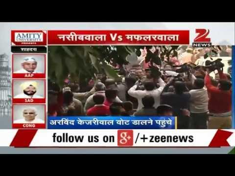 Delhi elections: Arvind Kejriwal casts his vote