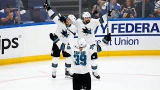 Erik Karlsson wins it for Sharks in OT with second goal