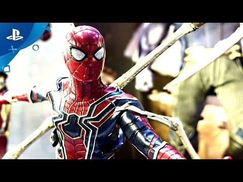 """SPIDER-MAN PS4"" | Iron Spider Suit | Combat Tutorial | Side Mission Details thumbnail"
