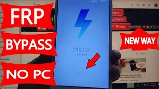 ✅ MI Redmi Note 4 FRP Bypass Without PC | Google Account Remove | #AndroidUnlock