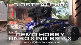 S MAX 1/16 Monster Truck UNBOXING From Remo Hobby 1631 : brought to you by cheerwing on Amazon