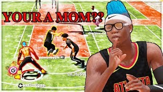 HE THOUGHT MY MOM BROKE HIS ANKLES... BUT IT WAS ACTUALLY ME.. TROLLING IN NBA 2K19 MY PARK 2K19