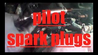 How to replace spark plugs Honda Pilot √