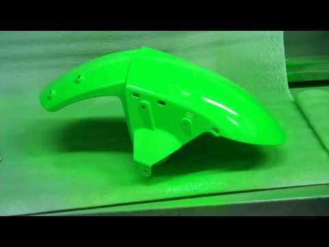Motorcycle Fairing Repair on abs plastic - Paint Part 4