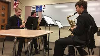 Fugue In G Minor Bach Stanton Saxophone Quartet