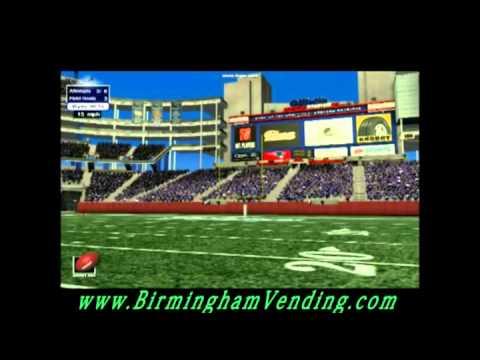 Visual Sports Multi Sport Simulation Machines by Birmingham Vending