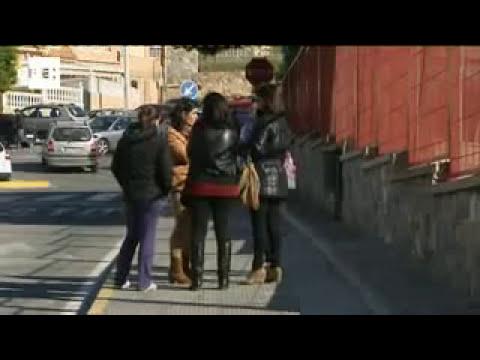 Siete niños heridos leves al hundirse el suelo de su clase en Santa Pola