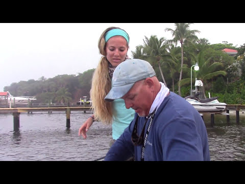 Girl HOW TO Fish for BIG Florida Snook GoPro Video