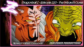 Dragonball Z - Episode 220 - The Wizard's Curse - [Faulconer Background Music Only]