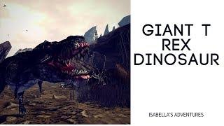 Giant T Rex Dinosaur