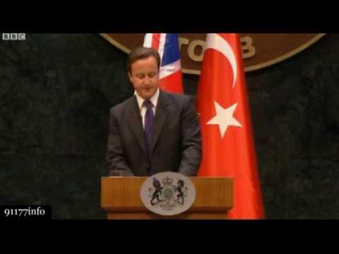 PM Cameron calls Gaza a Prison Camp