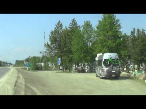 Travel Guide Road Trip Entering Watson Lake Yukon