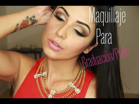 Maquillaje de graduacion/ Prom makeup