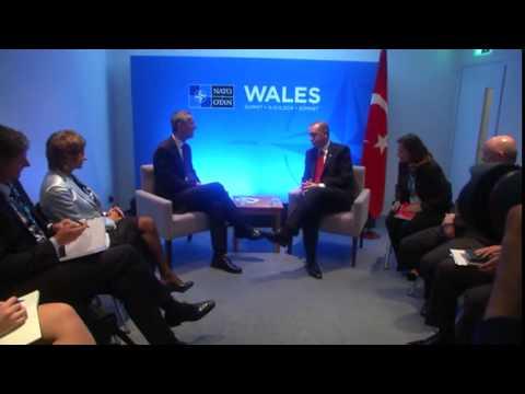Yeni NATO Genel Sekreteri Jens Stoltenberg ile görüşmesi