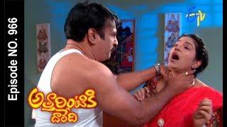 Attarintiki Daredi | 9th December 2017  | Full Episode No 966| ETV Telugu