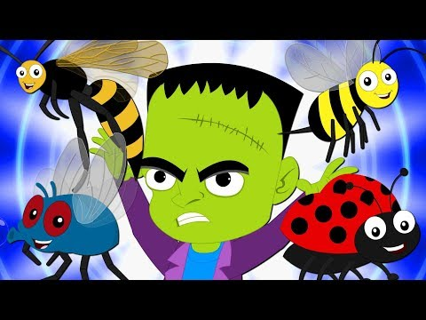 Shoo Fly Don't Bother Me | Nursery Rhymes | Scary Rhyme For Kids By Booya