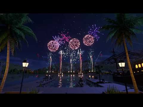 My First Fireworks Show - Planet Coaster