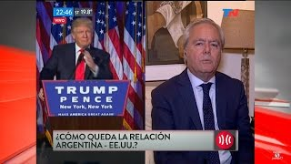 "F.Pinedo sobre el triunfo de D.Trump, en ""A dos voces"", de M.Bonelli y E.Alfano - 09/11/16"