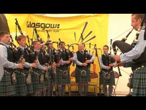 Piping Live! - Inverary and District Pipe Band @ George Square