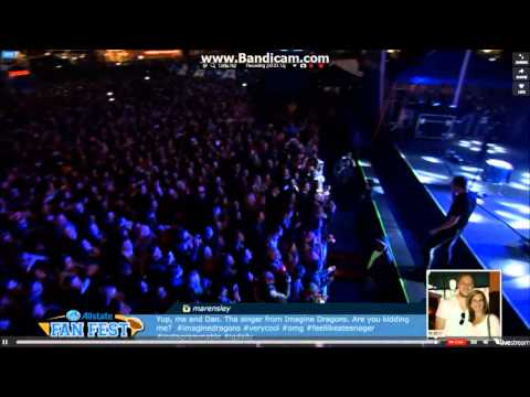 Imagine Dragons: Demons Allstate Fan Fest January 1st, 2014 video