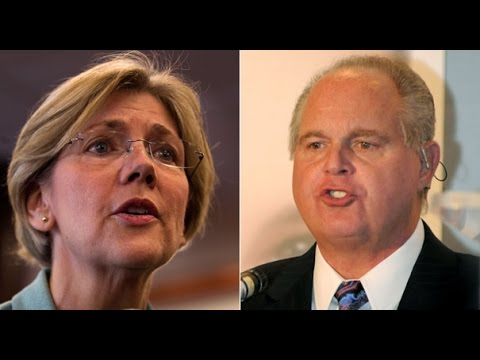 Random Rush: Elizabeth Warren Scares the F*ck Out of Limbaugh