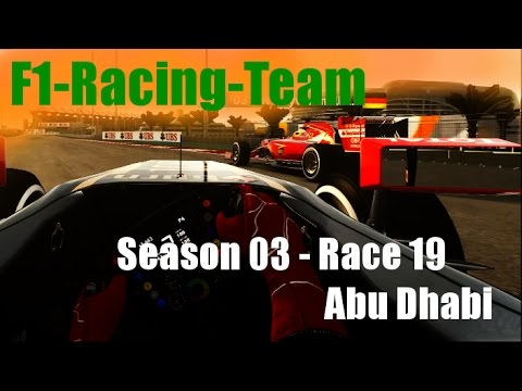 F1-Racing-Team - Season 03 Race 19 (Final Race): Abu Dhabi - Race Edit - F1 2014