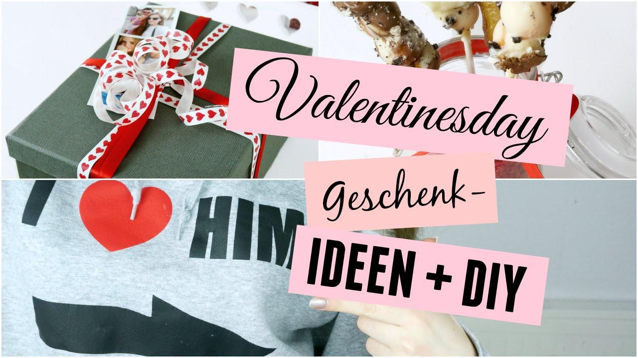 Valentinstag Geschenk Ideen + DIY - YouTube