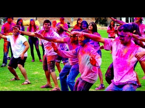 Flash Mob | Holi At Cu 2013 | Festival Of Colors At University Of Colorado Boulder (cu Boulder) video